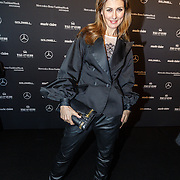 NLD/Amsterdam/20160115 - Amsterdam Fashion Week 2016 Winter, modeshow Claes Iversen, Euvgenia Parakhina