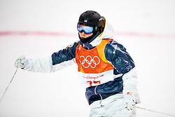 February 12, 2018 - Pyeongchang, SOUTH KOREA - 180212 Casey Andringa of USA competes in the menÃ•s moguls final during day three of the 2018 Winter Olympics on February 12, 2018 in Pyeongchang..Photo: Carl Sandin / BILDBYRN / kod CS / 57999_286 (Credit Image: © Carl Sandin/Bildbyran via ZUMA Press)