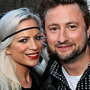 NLD/Amsterdam/20100415 - Uitreiking 3FM Awards 2010, Dennis Weening en partner Stella Maassen