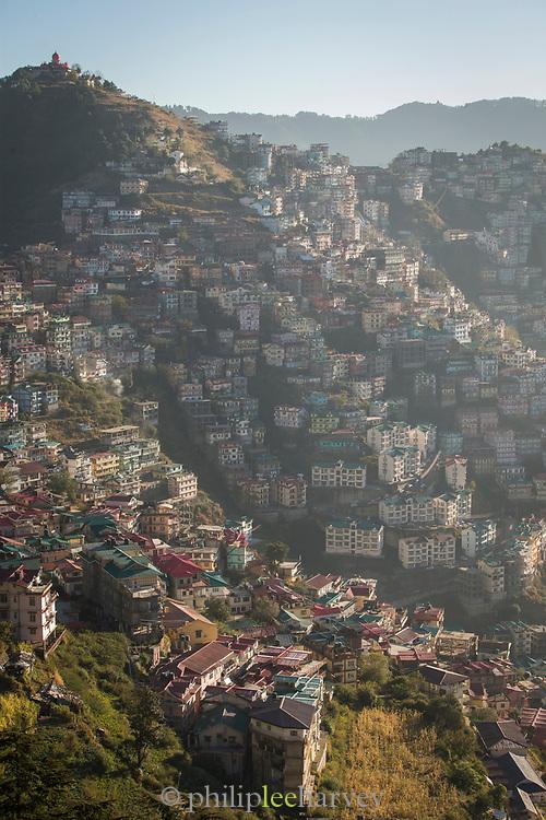 High angle view of Sanjauli, Shimla, Himachal Pradesh, India