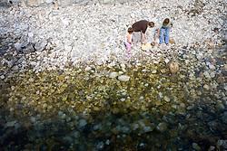 Family at river. (Photo by Vid Ponikvar / Sportida)
