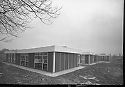Exteriors of Whitehall Senior School.   (K92)..1977..28.02.1977..02.28.1977..28th February 1977..This year saw the opening of the new extension to Whitehall Senior School. A series of images show the exterior aspects of the new building before its official opening.