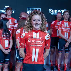 10-12-2019: Wielrennen: Teampresentatie Sunweb: Amsterdam <br />Floortje Mackay