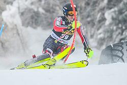 Erik Read (CAN) during 1st run of Men's Slalom race of FIS Alpine Ski World Cup 57th Vitranc Cup 2018, on March 4, 2018 in Kranjska Gora, Slovenia. Photo by Ziga Zupan / Sportida