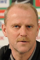 10.03.2011, Weserstadion, Bremen, GER, 1.FBL, Pressekonferenz Werder Bremen, im Bild Thomas Schaaf (Trainer Werder Bremen)   EXPA Pictures © 2011, PhotoCredit: EXPA/ nph/  Frisch       ****** out of GER / SWE / CRO  / BEL ******