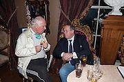 RIGHT: DAVID MUNNS, Eva Harold birthday party. Ballroom, Beach Blanket Babylon. Notting Hill, London. 19 November 2012.