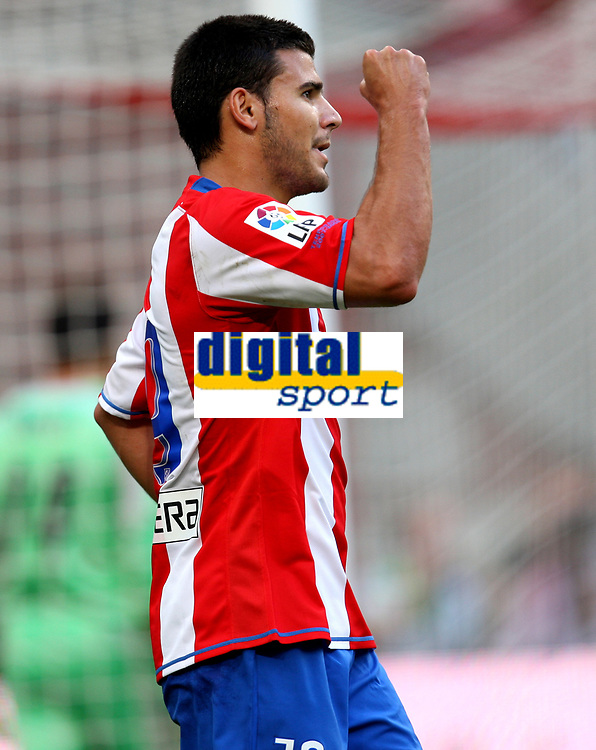 Photo: Maarten Straetemans.<br /> Lazio v Athletico Madrid. LG Amsterdam Tournament. 04/08/2007.<br /> Braulio Nobrega Rodriguez scored the 0-1 for Atletico