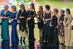 18-12-2019 NED: Sports gala NOC * NSF 2019, Amsterdam<br /> The traditional NOC NSF Sports Gala takes place in the AFAS in Amsterdam / Sportvrouw van de afgelopen jaren met oa. Sjoukje Dijkstra, Ada Kok, Enith Brigitha, Betty Stöve, Bettine Vriesekoop, Nelli Cooman, Yvonne van Gennip, Ellen van Langen, Anky van Grunsven, Marianne Timmer, Inge de Bruijn, Leontien Zijlaard-van Moorsel, Edith van Dijk, Nicolien Sauerbreij, Sanne Wevers, Suzanne Schulting