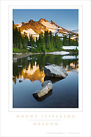Mount Jefferson Oregon Poster