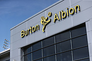 The Pirelli Stadium during the EFL Sky Bet League 1 match between Burton Albion and AFC Wimbledon at the Pirelli Stadium, Burton upon Trent, England on 1 September 2018.