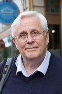 Bengt Sjögren, släktforskningsexpert på the Swedish American Museum.<br /> <br /> Andersonville, Chicago, Illinois, USA<br /> <br /> Foto: Christina Sjögren