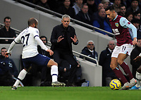 Football - 2019 / 2020 Premier League - Tottenham Hotspur vs. Burnley<br /> <br /> Tottenham Manager, Jose Mourinho, directs from the touch line at the Tottenham Hotspur Stadium.<br /> <br /> COLORSPORT/ANDREW COWIE