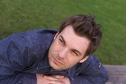 Portraits of Simon McKeown in Highgate, London. Simon is now a BBC TV producer but appeared on the TV programme 'The Living Soap', July 14, 2000. Photo by Andrew Parsons / i-Images..