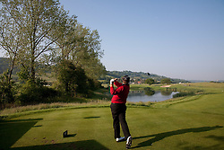 03.06.2010, Celtic Manor Resort and Golf Club, Newport, ENG, The Celtic Manor Wales Open 2010, im Bild Shane Lowry (IRL) playing a tee shot at the 3rd hole. EXPA Pictures © 2010, PhotoCredit: EXPA/ M. Gunn / SPORTIDA PHOTO AGENCY