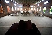 Sao Luis_MA, Brasil...Comunidade Cidade Olimpica em Sao Luis do Maranhao. Na foto interior de uma igreja evangelica...The Cidade Olimpica community in Sao Luis do Maranhao. In this photo, inside of an evangelical church...Foto: LEO DRUMOND / NITRO