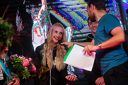 Urska Repusic during PZS reception of Slovenian national climbing team after IFSC Climbing World Championships in Hachioji (JPN) 2019, on August 23, 2019 at Ministry of Education, Science and Sport, Ljubljana, Slovenia. Photo by Grega Valancic / Sportida