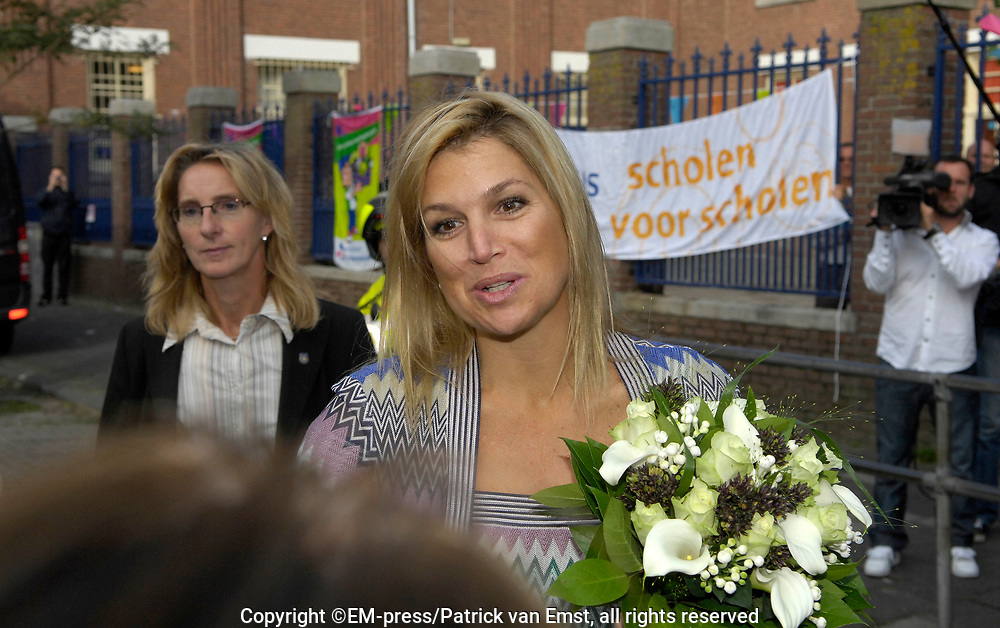 Princess Máxima launches Shoe buddies from Edukans<br />