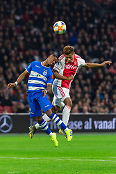 13-03-2019 NED: Ajax - PEC Zwolle, Amsterdam<br /> Ajax has booked an oppressive victory over PEC Zwolle without entertaining the public 2-1 / Kenneth Paal #5 of PEC Zwolle, David Neres #7 of Ajax