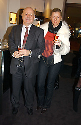 JOEL & STEPHANIE GORBOUNOVA  at a party to celebrate the International Women's Day in association with Theo Fennell and The Russian Connection held at Theo Fennell, 169 Fulham Road, London SW3 on 1st March 2005.<br /><br />NON EXCLUSIVE - WORLD RIGHTS