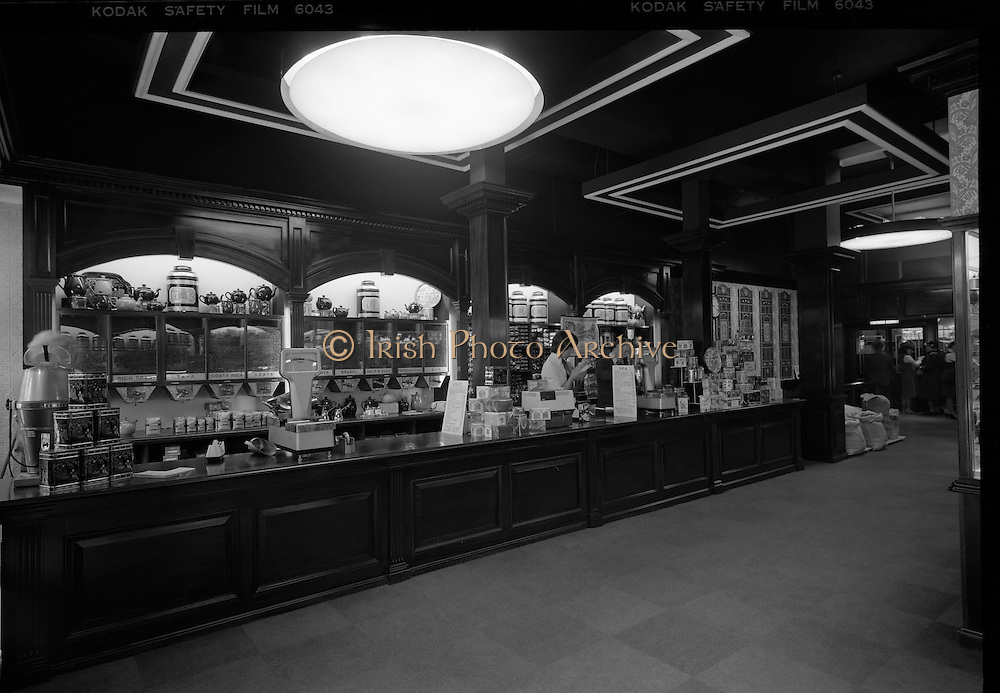 15/06/1979.06/15/1979.15th June 1979.Photograph of the interior of Bewleys Cafe on Westmoreland Street. The cafe in Westmoreland Street was opened in 1896.