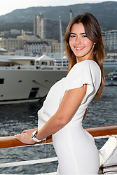 Paulina Vega (Miss Universe 2014) attends the Tag Heuer gala night (Don't crack under pressure) aboard a boat at Port Hercule during the 76th Grand Prix of Monaco in Monaco, on may 26, 2018. Photo by Marco Piovanotto/ABACAPRESS.COM