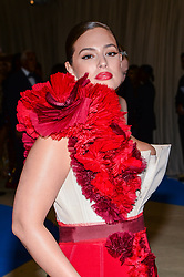 Ashley Graham arriving at The Metropolitan Museum of Art Costume Institute Benefit celebrating the opening of Rei Kawakubo / Comme des Garcons : Art of the In-Between held at The Metropolitan Museum of Art  in New York, NY, on May 1, 2017. (Photo by Anthony Behar) *** Please Use Credit from Credit Field ***