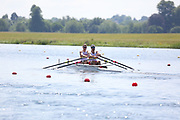 Race: 23  Event: Double Sculls - Championship - Final<br /> <br /> National Schools Regatta 2018<br /> Sunday<br /> <br /> To purchase this photo, or to see pricing information for Prints and Downloads, click the blue 'Add to Cart' button at the top-right of the page. The Metropolitan Regatta 2018