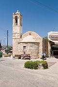 Cyprus, Polis, 16th century Greek Orthodox Church in the centre of the village June 2009