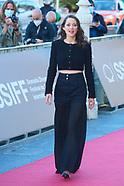 091821 69th San Sebastian International Film Festival: 'Bigger Than Us' Red Carpet