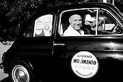 Filippo Nogarin durante un incontro con Ferdinando Imposimato<br /> 20 maggio 2014 . Daniele Stefanini /  OneShot