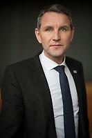 DEU, Deutschland, Germany, Arnstadt, 18.02.2017: Portrait Björn Höcke, AfD-Chef in Thüringen, Landeswahlversammlung der Partei Alternative für Deutschland (AfD) in Thüringen.