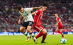 01.08.2017, Allianz Arena, Muenchen, GER, Audi Cup, FC Bayern Muenchen vs FC Liverpool, im Bild Philippe Coutinho (FC Liverpool), James Rodriguez (FC Bayern Muenchen) // during the Audi Cup Match between FC Bayern Munich and FC Liverpool at the Allianz Arena, Munich, Germany on 2017/08/01. EXPA Pictures © 2017, PhotoCredit: EXPA/ JFK