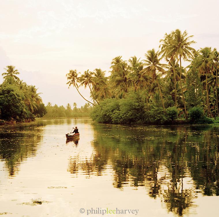 Kerala Backwaters, Kerala, India