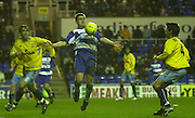 20/12/2003 - Photo  Peter Spurrier.2003_04_Nationwide_Div_1.Reading_FC_vs_Crystal_Palace_FC.Nicky Forster chest's the ball down.