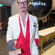 NLD/Amsterdam/20171114 - Esquire's Best Dressed Man 2017, Hervé Seeuws