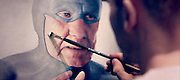 "The Life and Times of an Ageing Superhero Captured in Oil Paintings<br /> <br /> In his ongoing series of photorealistic oil paintings called the Ageing Superhero, Swedish artist Andreas Englund takes us into the candidly humorous life of an anonymous superhero who has probably seen better days. Though he still puts up a tough fight, the wear and tear of battling crime has taken its toll on this elderly action figure.<br /> In a kind of tender comic on a huge canvas, Englund describes the hero who is slowly but surely spending his remaining years with human traits as a link between the artist himself and the viewer. It was extremely important to Englund to portray the aging process with an intensified presence. If you want to accord credibility to a character, the character himself needs to face up reality and the aging process. He has to acknowledge to himself that he cannot live up to expectations and that the ""perfect life"" is nothing more than wishfulness. Englund's artworks are focused on the maturing process. Even in the old age it is still possible to achieve something valuable although someone's drive and vigour won't bluster out explosively. Nevertheless everybody in his advanced age deserves to be recognised and respected for what he has achieved in life.<br /> ©Andreas Englund/Exclusivepix Media"