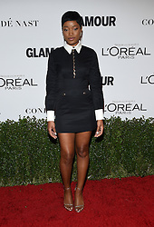 November 14, 2016 - Hollywood, California, U.S. - Keke Palmer arrives for the Glamour Women of the Year Awards 2016 at the Neuehouse Hollywood. (Credit Image: © Lisa O'Connor via ZUMA Wire)