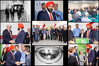OTTAWA - JULY 10: Innovation Minister Navdeep Bains and CBN NANO Technologies announce a $40M investment from the Federal Government at their Gladstone Road Plant in Ottawa, ON. on July 10, 2019.<br /> <br /> Photo's: Steve Kingsman for CBN -  For CBN usage ONLY. (www.stevekingsman.com)