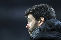 December 15, 2018 - Turin, Piedmont, Italy - Andrea Agnelli, president of Juventus FC, before the Serie A football match between Torino FC and Juventus FC at Olympic Grande Torino Stadium on December 15, 2018 in Turin, Italy. Torino lost 0-1 against Juventus. (Credit Image: © Massimiliano Ferraro/NurPhoto via ZUMA Press)