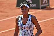 Venus Williams (USA) during the women singles second round of the Roland Garros Tennis Open 2017 at Roland Garros Stadium, Paris, France on 31 May 2017. Photo by Jon Bromley.