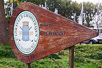 NUMANSDORP - Naambord . Golfclub Cromstrijen. COPYRIGHT KOEN SUYK