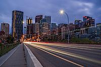 Centre Street & Calgary Skyline