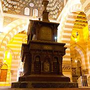 Tomb inside Khedive Tawfik Mausoleum. Qarafa, Cairo.