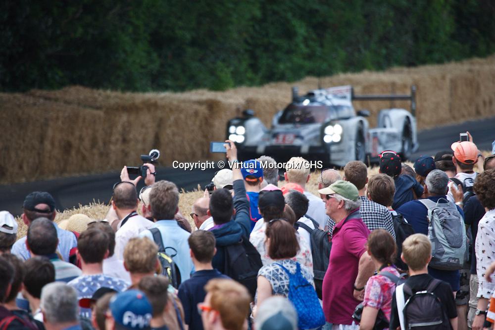 #19 Porsche 919 Hybrid, 2015 Le Mans 24H winner, Goodwood Festival of Speed 2015