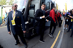 Watford manager Javi Gracia arrives at the Stadium prior to the beginning of the match