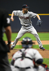 Indians at Brewers 8 may 2018
