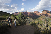 SHOT 8/6/17 7:09:23 PM - UOT Tourism photos of Brian Head and Cedar City, Utah. Images include riding Brian Head Resort in Brian Head, Utah; exploring Cedar Breaks National Monument, hiking Kolob Canyons in Zion National Park and mountain biking the Lava Flow Trail in Cedar City, Utah. (Photo by Marc Piscotty / © 2017)