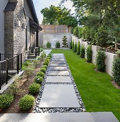 Glenbrook_Rossen_Modern Residential Landscape Modern residential sideyard VA2_229_899 Invoice_3986_7100_Glenbrook