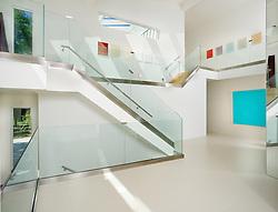 6912 Benjamin St., McLean, VA Ali and Farzaneh Saadat Hallway foyer entrance archway Stair stairway