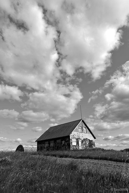Abandoned Farm House, South West Iceland, Golden Triangle, Iceland, Polar Regions.